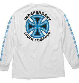 Independent Independent Bauhaus Cross LS Shirt - White