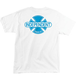 Independent Independent Baseplate Regular Mens T-Shirt - White