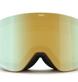 Zeal Zeal Hatchet Desert Gold Goggles 2020 - Alchemy Mirror