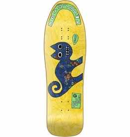 "New Deal New Deal Ed Templeton Cat SP Deck - Yellow - 9.75"" x 31.5"""