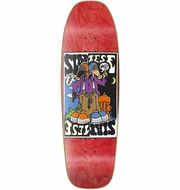 "New Deal New Deal Siamese Doublekick SP Deck - Red - 9.625"" x 31"""