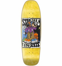 "New Deal New Deal Siamese Doublekick SP Deck - Yellow - 9.625"" x 31"""