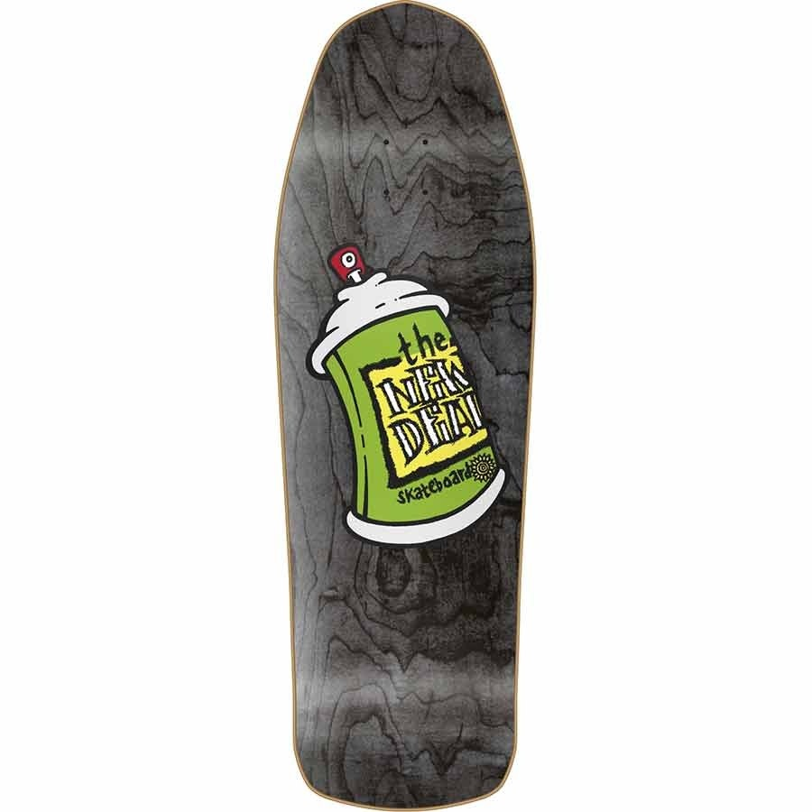 """New Deal New Deal Spray Can SP Deck - Black - 9.75"""" x 31.5"""""""