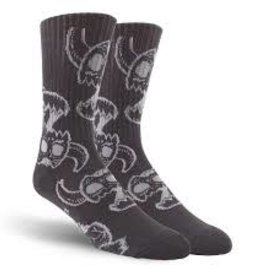 Toy Machine Toy Machine Monster Skull Crew Socks - 1 Pair One Size