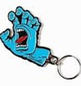 Santa Cruz Skateboards Santa Cruz Screaming Hand Keychain - Blue