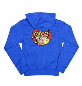 Santa Cruz Skateboards Santa Cruz Spongebob Youth Hoodie - Royal Heather