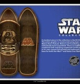 Santa Cruz Skateboards Santa Cruz x Star Wars R2/D2 Inlay Deck-69332