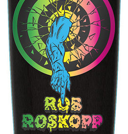 "Santa Cruz Skateboards Santa Cruz Rob Roskopp Target 1 Re-Issue Deck Black 10"" x 31.4"" x 15WB"