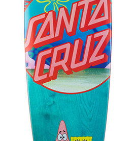 "Santa Cruz Skateboards Santa Cruz Spongebob Best Buds Cruiser Pintail 9.58"" x 39"""