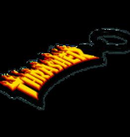 Thrasher Flame Logo Keychain