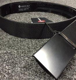 Mission Belt Co. Mission Belt Co. Mission 40mm Swat Black Belt - Black Buckle - Large