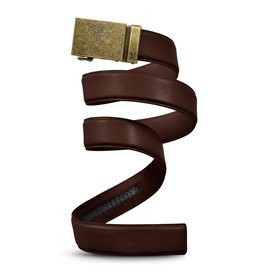 Mission Belt Co. Mission Belt 40mm Bronze/Chocolate - Medium