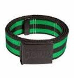Creature Creature Logo Stamp Web Belt OS Black/Green
