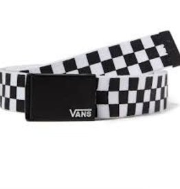 Vans Vans Depster Long Web Belt - Black/White Check