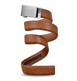 Mission Belt Co. Mission Belt Co. Mission 40mm Steel/Light Brown Belt - Medium