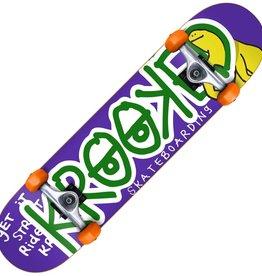 "Krooked Krooked Shmoo Krash Complete Skateboard 7.3"""