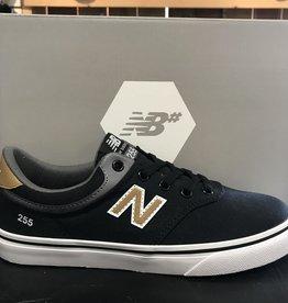 New Balance New Balance 255 Skate Youth Shoes - Black/Tan