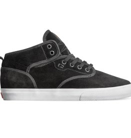 Globe Globe Motley Mid Skate Shoes - Black Suede/White