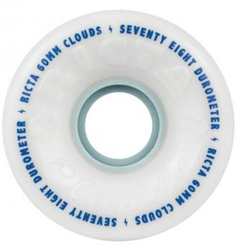 Ricta Ricta Clouds Wheels White 60mm 78a (Set of 4)
