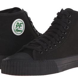 PF Flyers PF Flyers Hi Top Skate Shoes - Black/Black