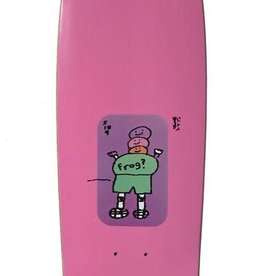 "Frog Frog Mini Deck 8"" - Pink"