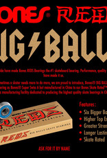 Bones Bones Big Balls Reds - Bearings (8 pack)