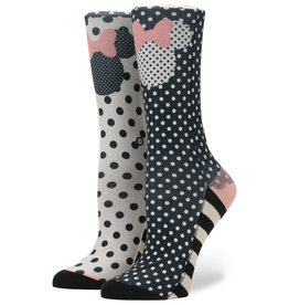 Stance Stance Sprinkled Minnie - Black Small (5-7.5)