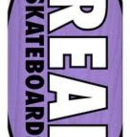 Real Skateboards Real Team Oval Overspray Deck 8.5 x 32.25