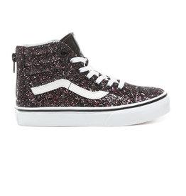 Vans Vans Kids Glitter Stars Sk8-Hi Zip - Black/True White