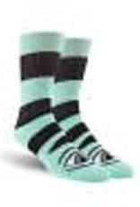 Toy Machine Toy Machine Sect Eye Big Stripe Socks Mint 1 Pair One Size