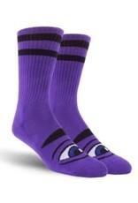 Toy Machine Toy Machine Sect Eye Socks Purple 1 Pair One Size