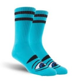 Toy Machine Toy Machine Sect Eye Socks Blue 1 Pair One Size
