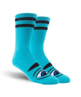 Toy Machine Toy Machine Sect Eye Socks Blue 1 Pair One Size