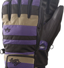 Rome SDS Rome SDS Reign Gloves Purple/Gray Small