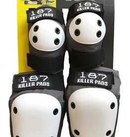 187 Killer Pads 187 Killer Pads Combo Pack Knee/Elbow - Grey