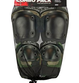 187 Killer Pads 187 Killer Pads Combo Pack Knee/Elbow - Camo
