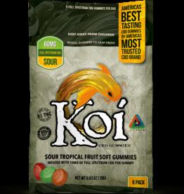 Koi CBD Koi CBD - Tropical Fruit Gummies - 20 Pack - Sour - 2.82oz