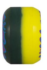 Slime Balls Slime Balls Double Take Vomit Mini Wheels Yellow Black 53mm 97a (set of 4)