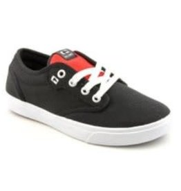 Globe Globe Motley-Kids Skate Shoes - Black/White/Red