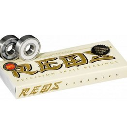 Bones Bones Ceramic Reds - Bearings (8 pack)