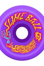 Slime Balls Slime Balls Vomits Wheels Neon Purple 60mm 97a (set of 4)