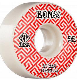 Bones Bones STF Skateboard Wheels Patterns V2 Locks 52mm 103A