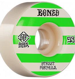 Bones Bones STF Skateboard Wheels Patterns V4 Wide 53mm 99A