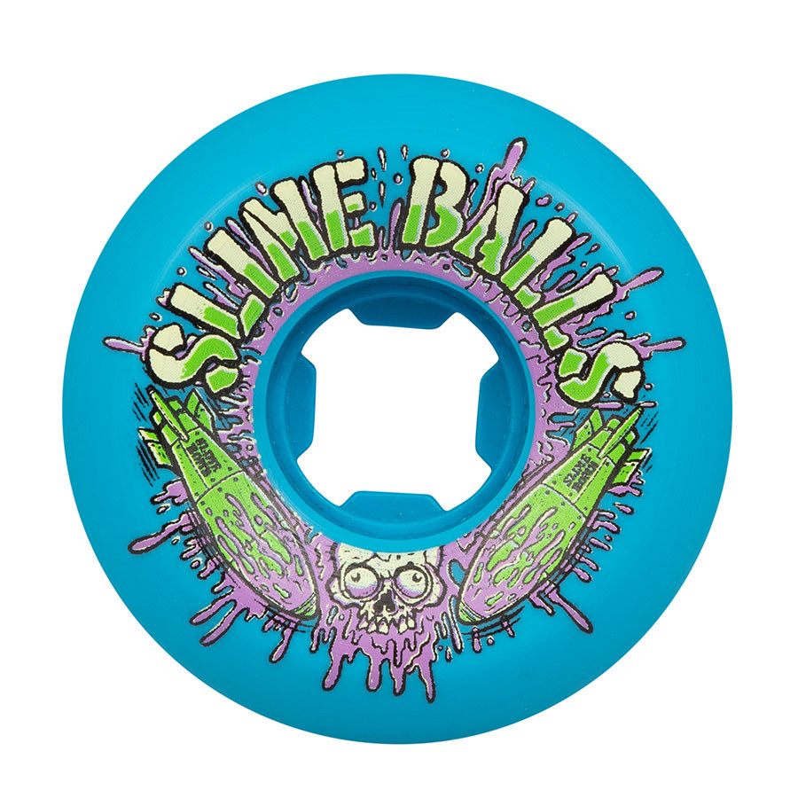 Slime Balls Slime Balls Slime Bombs Speed Balls Wheels 56mm 99a (Set of 4)