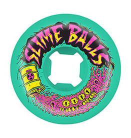 Slime Balls Slime Balls 56mm Toxic Terror Speed Balls 99a (set of 4) - Green