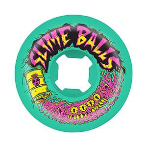 Slime Balls Slime Balls 56mm Toxic Terror Speed Balls 99a (set of 4) - Green