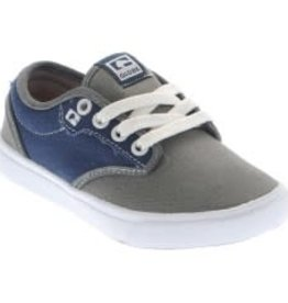 Globe Globe Motley-Kids Skate Shoes - Charcoal/Navy