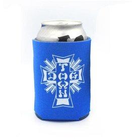 Dogtown Dogtown Cross Logo Koozie - Royal Blue