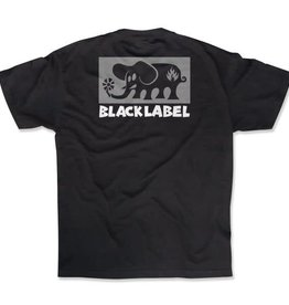 Black Label Black Label Elephant Block T-shirt - Black