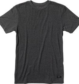 RVCA RVCA Label Vintage Dye T-Shirt  - Black